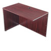 basyx® BL Series Return Shell, 42-1/4w x 24d x 29h, Mahogany