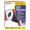 C-Line® Traditional Polypropylene Sheet Protector, Standard Weight, 11 x 8 1/2, 100/BX