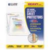 C-Line® High Capacity Polypropylene Sheet Protectors, Clear, 50