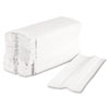 Boardwalk® C-Fold Paper Towels, Bleached White, 200 Sheets/Pack, 12 Packs/Carton