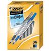 Round Stic Grip Xtra Comfort Stick Ballpoint Pen, 1.2mm, Assorted Ink/Barrel, 36/Pack