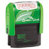 2000 PLUS® 2000 PLUS Green Line Message Stamp, Faxed, 1 1/2 x 9/16, Red