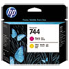 HP HP 744, (F9J87A) Magenta/Yellow DesignJet Printhead