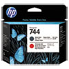 HP HP 744, (F9J88A) Chromatic Red/Matte Black DesignJet Printhead