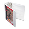 Cardinal® Recycled ClearVue EasyOpen Vinyl D-Ring Presentation Binder, 4
