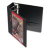 Cardinal® EasyOpen ClearVue Locking Slant-D Ring Binder, 4