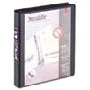 Cardinal® XtraLife ClearVue Non-Stick Locking Slant-D Ring Binder, 1
