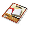 Cardinal® Traditional OneStep Index System, 31-Tab, 1-31, Letter, White, 31/Set