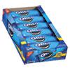 Nabisco® Oreo Cookies Single Serve Packs, Chocolate, 2.4oz Pack, 6 Cookies/Pack, 12Pk/Bx