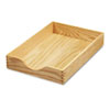 Carver™ Hardwood Legal Stackable Desk Tray, Oak