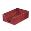 Carver™ Hardwood Legal Stackable Desk Tray, Mahogany