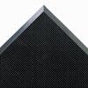 Crown Mat-A-Dor Entrance/Scraper Mat, Rubber, 24 x 32, Black