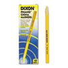 Dixon® China Marker, Yellow, Dozen