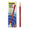 Dixon® China Marker, Red, Dozen