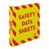 Avery® Heavy-Duty Preprinted Safety Data Sheet Binder, 3 Rings, 1.5