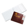 Dome® Notary Public Record, Burgundy Cover, 60 Pages, 8 1/2 x 10 1/2