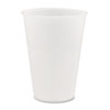 Dart® Conex Translucent Plastic Cold Cups, 14oz, 50/Bag, 20 Bags/Carton