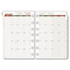 Day Runner® Recycled Monthly Planning Pages, 5-1/2 x 8-1/2, 2015