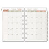 Day Runner® Recycled Monthly Planning Pages, 8-1/2 x 11, 2015