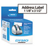 DYMO® Address Labels, 1-1/8 x 3-1/2, White, 700/Box