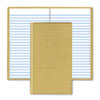 Boorum & Pease® Handy Size Bound Memo Book, Ruled, 4-3/8 x 7, WE, 96 Sheets/Pad