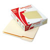 Pendaflex® Essentials™ File Folders, 1/3 Cut, First Position, Top Tab, Letter, Manila, 100/Box