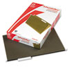 Pendaflex® Hanging File Folders, 1/5 Tab, Legal, Standard Green, 25/Box