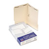 Pendaflex Manila Two-Fastener Classification Folders with 1/3 Cut Tabs, Legal, 50/Box
