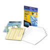 Fellowes® Self-Laminating Sheets, 3 mil, 9 1/8 x 12, 10/Box