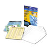Fellowes® Self-Laminating Sheets, 3 mil, 9 x 12, 50/Box