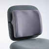 Fellowes® High-Profile Backrest w/Soft Brushed Cover, 13w x 4d x 12-5/8h, Graphite