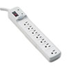 Fellowes® Advanced Computer Series Surge Protector, 7 Outlets, 6ft Cord