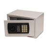 Gary® Personal Safe, 0.3 ft3, 12-1/4w x 7-3/4d x 7-3/4h, Light Gray
