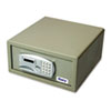 Gary® Laptop Safe, 1.2 capacity, 15-3/4w x 16-5/8d x 7-9/16h, Light Gray
