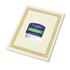 Geographics® Parchment Paper Certificates, 8-1/2 x 11, Natural Diplomat Border, 50/Pack