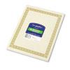 Geographics® Parchment Paper Certificates, 8-1/2 x 11, Natural Diplomat Border, 50/Pack