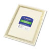 Geographics® Foil Enhanced Certificates, 8-1/2 x 11, Gold Flourish Border, 12/Pack