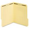 Pendaflex® Earthwise® Manila Top Tab Fastener Folder, 1/3 Tab, Letter, 50/Box