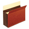 Globe-Weis® 5 1/4 Inch Expansion Accordion Pocket, Straight Cut, Letter, Redrope, 10/Box