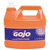 GOJO® Natural Orange Pumice Hand Cleaner, Orange Citrus, 1gal Pump