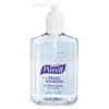 PURELL® Instant Hand Sanitizer, 8-oz. Pump Bottle, 12/Carton