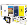HP HP 90, (C5057A) Yellow Printhead & Cleaner