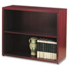 HON® 10500 Series Bookcase, 2 Shelves, 36w x 13-1/8d x 29-5/8h, Mahogany