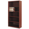 HON® 10500 Series Bookcase, 5 Shelves, 36w x 13-1/8d x 71h, Mahogany