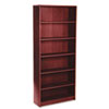 HON® 1870 Series Bookcase, 6 Shelves, 36w x 11-1/2d x 84h, Mahogany