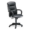 HON® Allure Executive High-Back Swivel/Tilt Chair, Black Leather