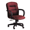 HON® Allure Managerial Mid-Back Swivel/Tilt Chair, Wild Rose Fabric