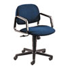 HON® Solutions Seating Mid-Back Swivel/Tilt Chair, Blue