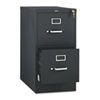 HON® 510 Series Two-Drawer Full-Suspension File, Letter, 29h x25d, Black