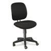 HON® ComforTask Task Swivel Chair, Black
